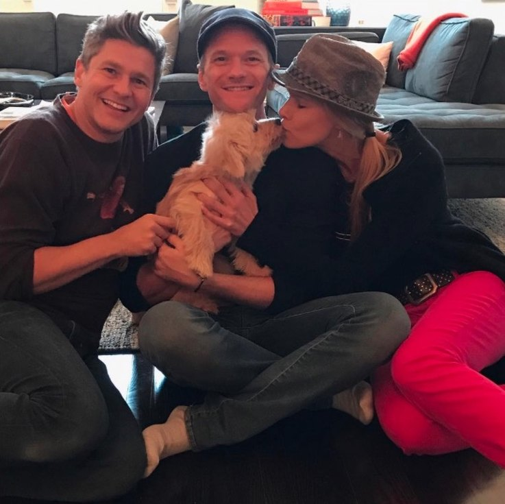 neil patrick harris adopted a rescue dog